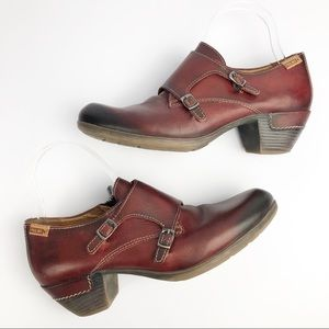 PIKOLINOS 'Rotterdam' Double Monk Strap Booties 39